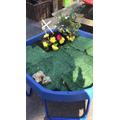 Easter Garden tuff tray