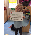 Outstanding learning this week Scarlett well done.