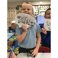 We can write speech for the superheroes.