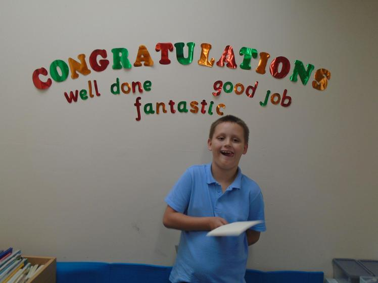 Well done Alfie for independent creative work