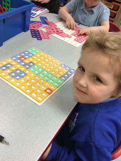 Well done Oliver you solved lots of problems with the numicon.