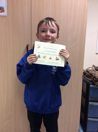 Week 6 - Frankie for his great use of phonics when reading.