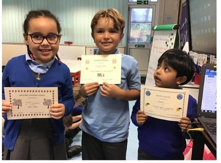 Week 2 - 17.9.20 Nina, Abdia and Elijah won this week's certificates. Well done!