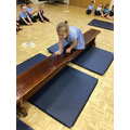 Marcella shows us different ways to move on the bench