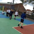 Practising sprinting and developing stamina