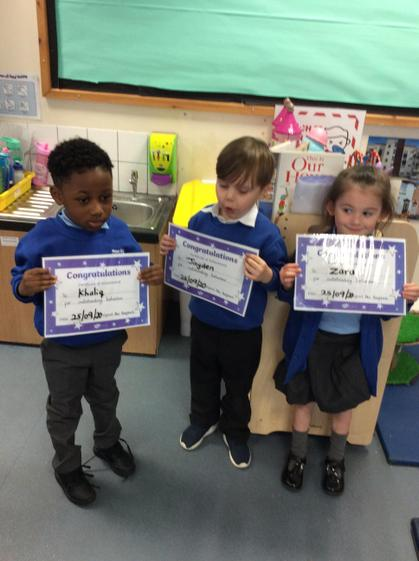 Khaliq, Jayden and Zara, your learning has been amazing this week. Well done!