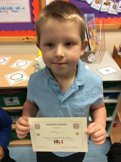 Week 4- Dexter for including others in his games and learning.