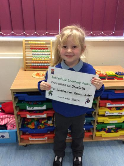 Super writing Scarlett