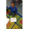 We created and solved subtraction problems with the ten frames.