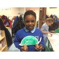 Abilsola's dinosaur creation