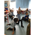 Following fantastic yoga activities.
