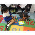 Eva and Humairah problem solving - fractions.