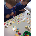 Addition puzzles.