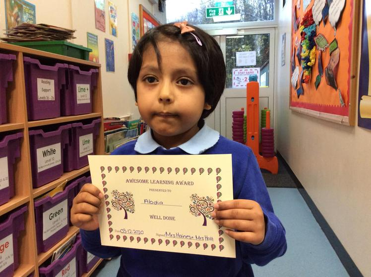 Week 5 - Abdia Hossain - for  Awesome Learning