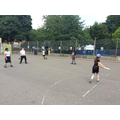 Practising batting skills for round