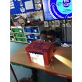 Theatre Boxes and shadow puppets. Well done, children for creating your own stories!😊
