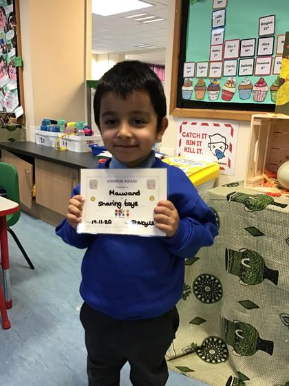 Well done Maiwand for some super sharing this week.