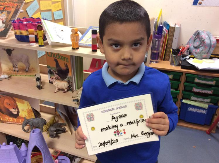 Thank you Ayaan for being such a kind friend.