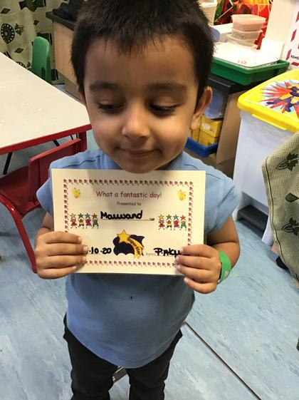 Well done Maiwand for having a fantastic week.