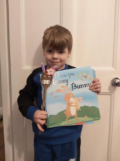 I love you Honey Bunny by Kian