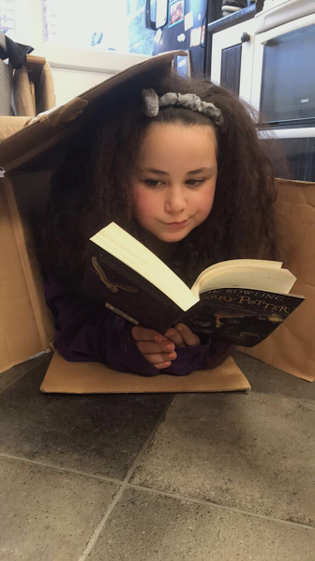 Amira's reading place