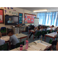 Watching a poetry as part of Guided Reading