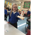 We enjoyed making  our own rockets.
