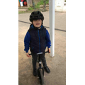 Using the balance bikes