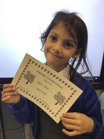 Maryam! You have used wonderful ideas in your writing! Superstar:)