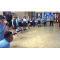 Trying out some body percussion in our music session