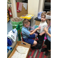 The children enjoy acting out as Doctors