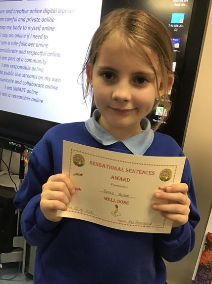 Sophia! Amazing attitude towards learning! Well done:)
