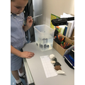 We used a pipette with  water to check if the rocks are permeable or impermeable