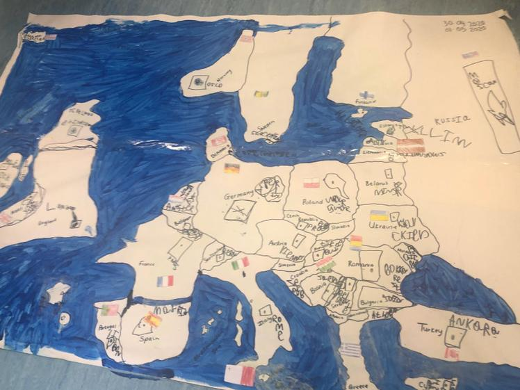 Aiman's Map of Europe