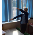 Creating different types of angles with our arms