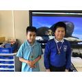 Samuel - 1st Prize & Lucas - 2nd prize