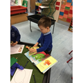 Itanas retold the story of The Three Billy Goats Gruff in his own words.