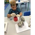 Making hippos