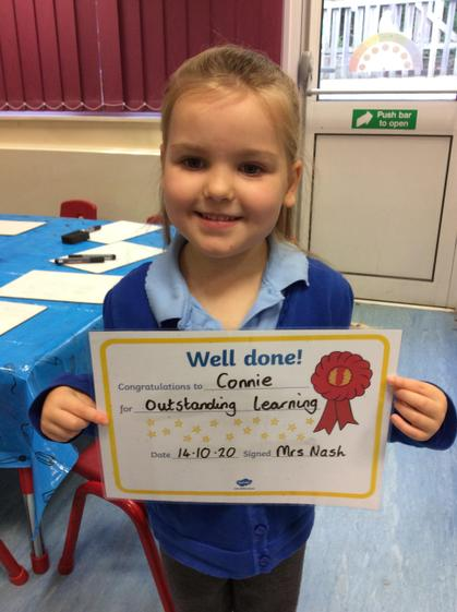 Outstanding learning all week, well done Connie.