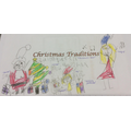 We talked about how we celebrate Christmas and made Christmas traditions posters.