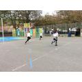 Athletics - Practicing sprinting