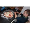 Jay made a pizza :)