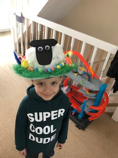 Cristian's Easter Bonnet (Reception)