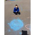 Harvey chalked Neptune