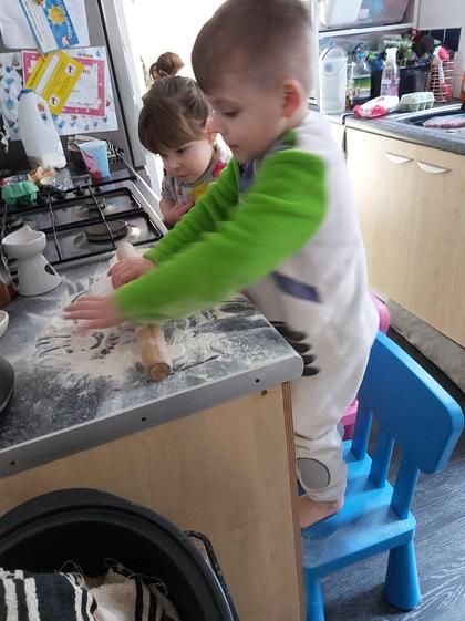 Kian baking (Reception)
