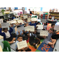 Putting our focus spellings into sentences.