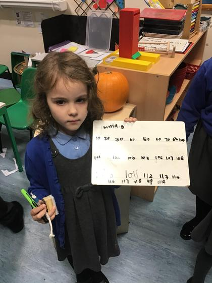 Counting on in 10s and 1s