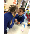 Bogdan and Marcella has great fun writing each other notes and reading them to each other.