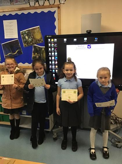 Super learning girls! Well done:)
