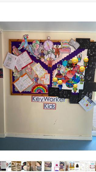 Display in KS2 Corridor